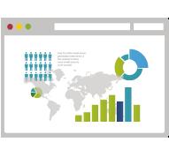 Gráficos de análisis de posicionamiento en buscadores
